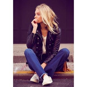 Free People | Ashville Vegan Moto Jacket